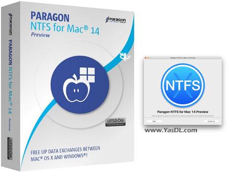 دانلود Paragon NTFS for Mac 14.0.332 - خواندن و نوشتن NTFS در OS X El Capitan
