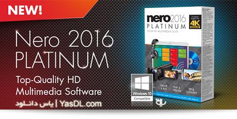 دانلود Nero 2016 Platinum 17.0.02000 - مجموعه ابزارهای نرو