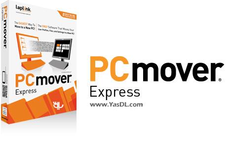 دانلود Laplink Software PCmover Express 10.0.639.0 - نرم افزار تغییر کامپیوتر