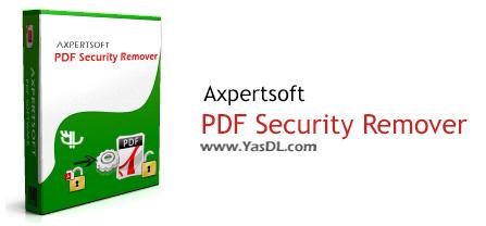 دانلود Axpertsoft PDF Security Remover 1.4.10 - نرم افزار حذف پسورد اسناد PDF