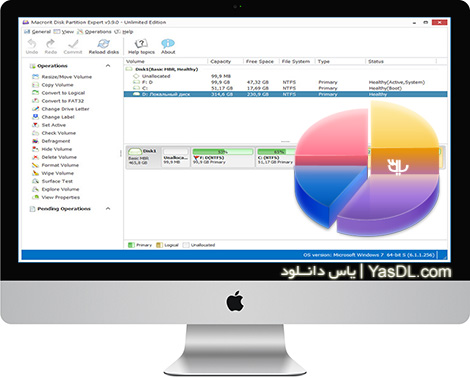 دانلود Macrorit Disk Partition Expert 3.9.0 Unlimited Edition + Portable - نرم افزار پارتیشن بندی