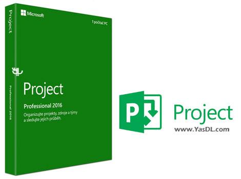 دانلود Microsoft Project Professional 2016 RTM Final - مایکروسافت پروجکت 2016