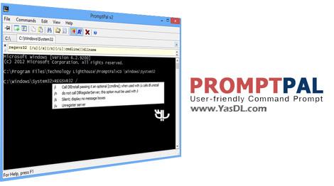 دانلود PromptPal 2.1.1.0 - نرم افزار جایگزین خط فرمان ویندوز