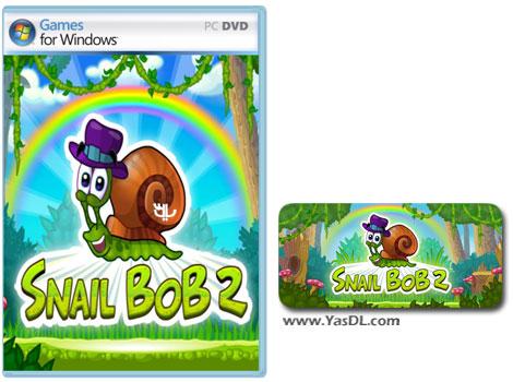 دانلود بازی کم حجم Snail Bob 2 برای کامپیوتر