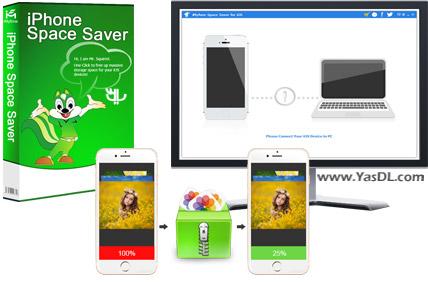 دانلود iMyfone Space Saver for iOS 2.0.0 - پاک سازی فایل های اضافی آیفون
