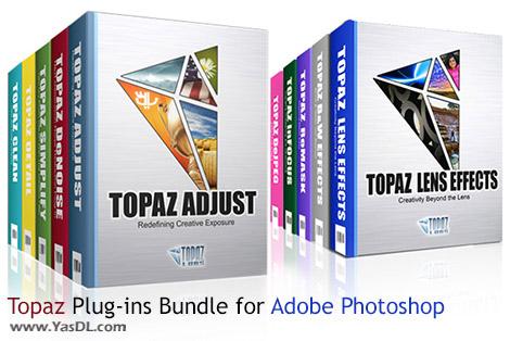 دانلود Topaz Plug-ins Bundle for Adobe Photoshop 08.2015 - پکیج کامل پلاگین های فتوشاپ