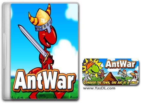 دانلود بازی کم حجم Ant War Domination برای کامپیوتر
