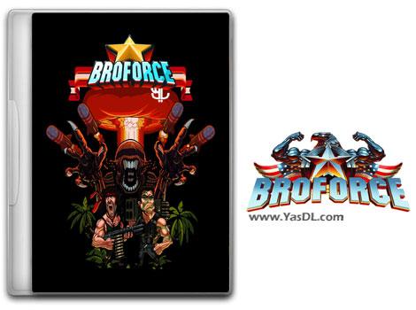 دانلود بازی کم حجم Broforce برای کامپیوتر