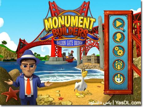 دانلود بازی کم حجم Monument Builders Golden Gate Bridge برای کامپیوتر