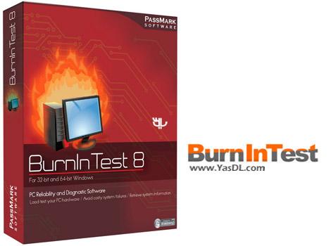 دانلود PassMark BurnInTest Pro 8.1 Build 1010 - نرم افزار تست سخت افزاری سیستم