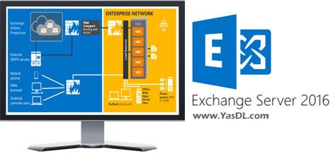 دانلود Microsoft Exchange Server 2016 - مدیریت ایمیل در سرور