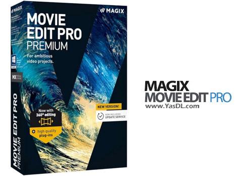 دانلود MAGIX Movie Edit Pro 2017 Premium 16.0.3.63 x64 - نرم افزار ویرایش فیلم