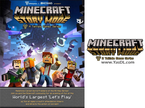 دانلود بازی Minecraft Story Mode Episode 1 برای PC