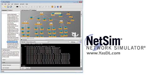دانلود Boson Netsim Network Simulator 10.8.5652.27992 - شبیه سازی شبکه