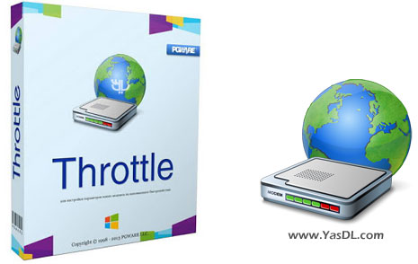 دانلود Throttle نرم افزار افزایش سرعت اینترنت