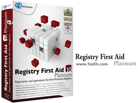 دانلود Registry First Aid Platinum 10.1.0 Build 2297 x86/x64 - بهینه ساز رجیستری