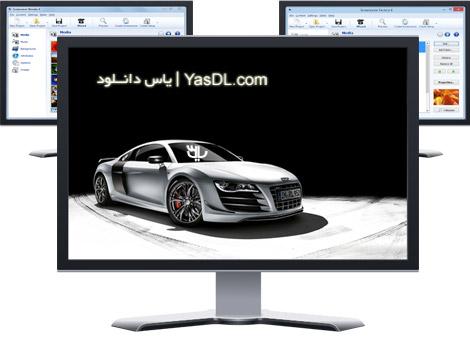 دانلود Blumentals Screensaver Factory / Wonder 6.10.0.67 - نرم افزار ساخت اسکرین سیور