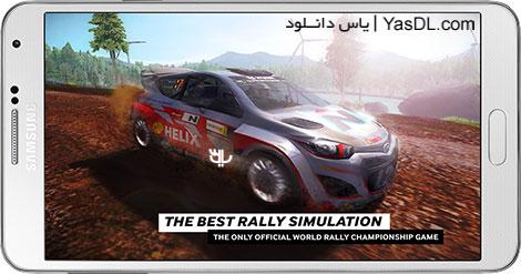 دانلود بازی WRC The Official Game 1.2.7 - اتومبیل رانی برای اندروید + دیتا + پول بی نهایت