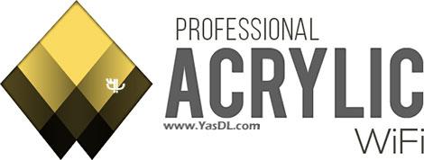 دانلود Acrylic WiFi Professional 3.0.5770.30583 - نرم افزار آنالیز شبکه های WiFi