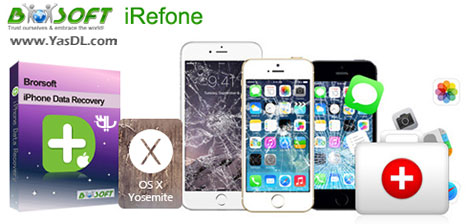 دانلود Brorsoft iRefone 2.1.16.103 + Portable - بازیابی اطلاعات آیفون
