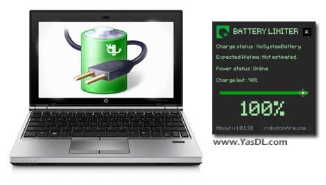 دانلود Battery Limiter 1.0.2 + Portable - افزایش عمبر باطری لپ تاپ