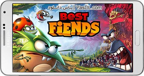 دانلود بازی Best Fiends 2.4.1 - بهترین شیاطین برای اندروید + پول بی نهایت
