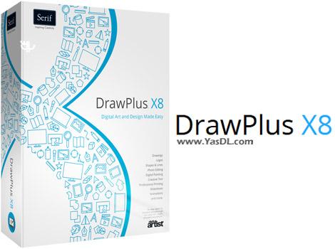 دانلود Serif DrawPlus X8 14.0.1.21 - نرم افزار طراحی گرافیکی حرفه ای