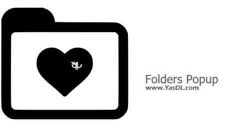 دانلود Folders Popup 5.2 Final + Portable - دسترسی سریع به فولدرها