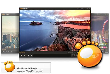 دانلود پلیر فایل های صوتی و ویدئویی GOM Player 2.3.21.5278 + Portable