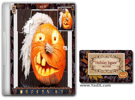 دانلود بازی کم حجم Holiday Jigsaw Halloween 3 برای کامپیوتر