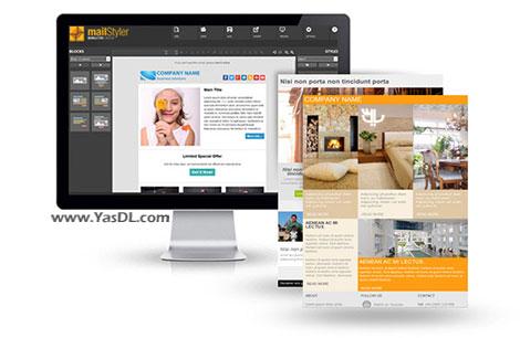 دانلود MailStyler Newsletter Creator Pro 1.3.3.0 - ساخت قالب های خبرنامه و ایمیل