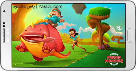 دانلود بازی Finding Monsters Adventure 1.1.0.40 - یافتن هیولا برای اندروید + دیتا