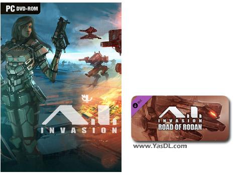 دانلود بازی A I Invasion Road of Rodan برای PC