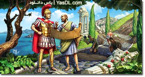 دانلود بازی کم حجم Roads of Rome 4 برای کامپیوتر