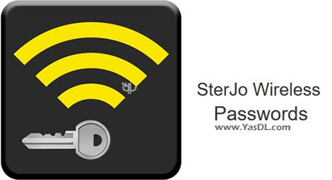 دانلود SterJo Wireless Passwords 1.6 Final + Portable - بازیابی رمز WiFi