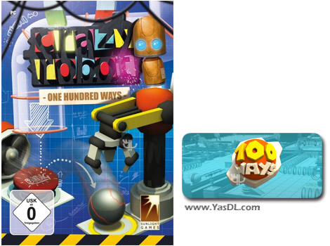 دانلود بازی Crazy Robot One Hundred Ways برای PC