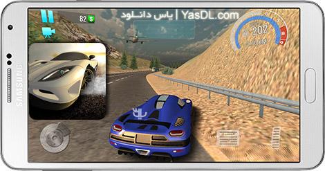 دانلود بازی Racer UNDERGROUND 1.25 - اتومبیل رانی زیرزمینی برای اندروید + پول بی نهایت