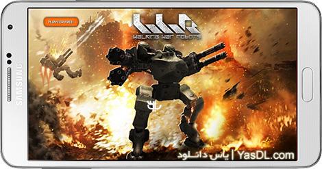 دانلود بازی Walking War Robots 1.1.0 - نبرد ربات ها برای اندروید + دیتا