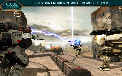 Walking War Robots 6.2.2 For Android + Infinite Version