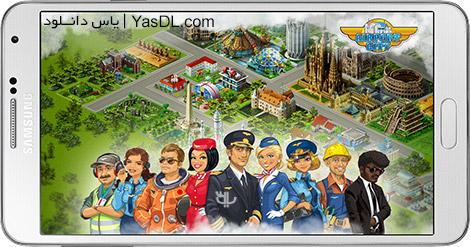 دانلود بازی Airport City برای اندروید
