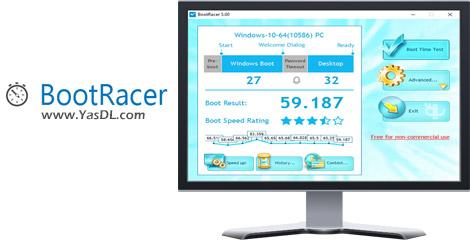 دانلود BootRacer 5.0 Final - نرم افزار اندازه گیری سرعت بوت ویندوز
