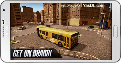 دانلود بازی Bus Simulator 2015 1.8.4 - شبیه سازی اتوبوس برای اندروید + پول بی نهایت