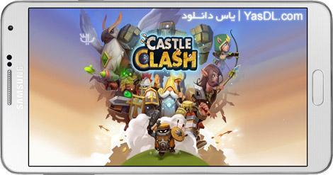 دانلود بازی Castle Clash 1.2.84 برای اندروید + نسخه بی نهایت + دیتا