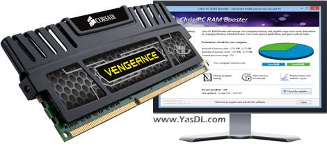 دانلود Chris-PC RAM Booster 3.30 - بهینه سازی سرعت رم