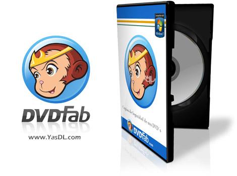 دانلود DVDFab 9.2.2.6 + Portable - نرم افزار رایت و شکستن قفل DVD