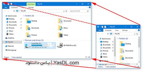 دانلود DeskSoft WindowManager 4.02 - مدیریت پنجره ها در ویندوز