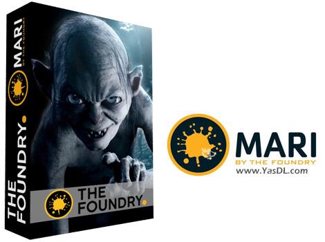 دانلود The Foundry Mari 4.0v1 - نرم افزار نقاشی و تکستچرینگ 3 بعدی