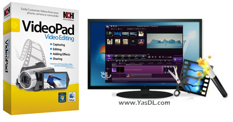 دانلود NCH VideoPad Video Editor Professional 4.30 - ویرایش ویدیو