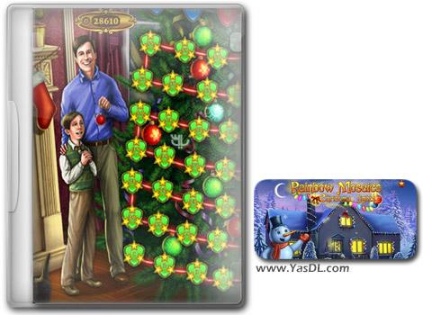 دانلود بازی کم حجم Rainbow Mosaics Christmas Lights برای کامپیوتر