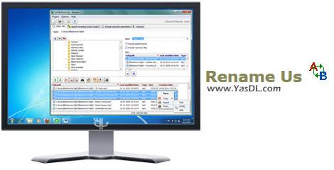دانلود Rename Us 4.0.1 + Portable - تغییر نام دسته جمعی فایل ها
